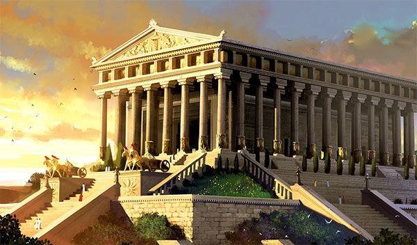 Учебник по всеобщей истории Древнего мира. Вигасин, Годер. 5 класс. Знаменитые постройки
