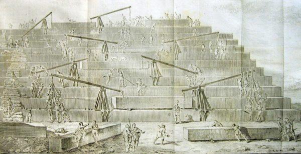Строительство Великой пирамиды Хеопса