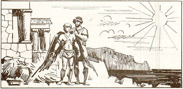 Рабочая тетрадь по всеобщей истории Древнего мира. Годер. 5 класс. 2 часть. Задание 7