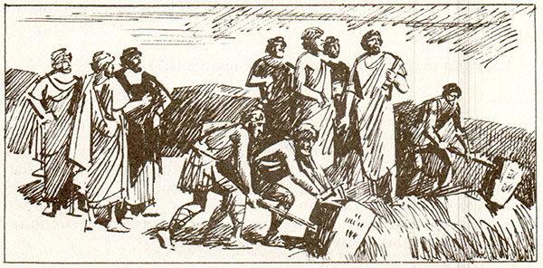 Рабочая тетрадь по всеобщей истории Древнего мира. Годер. 5 класс. 2 часть. Задание 19