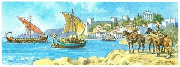Учебник по всеобщей истории Древнего мира. Вигасин, Годер. 5 класс. Параграф 32