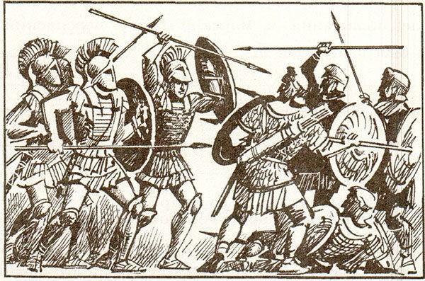Рабочая тетрадь по всеобщей истории Древнего мира. Годер. 5 класс. 2 часть. Задание 33