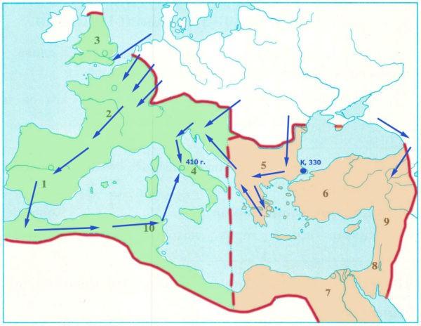 Рабочая тетрадь по всеобщей истории Древнего мира. Годер. 5 класс. 2 часть. Задание 73